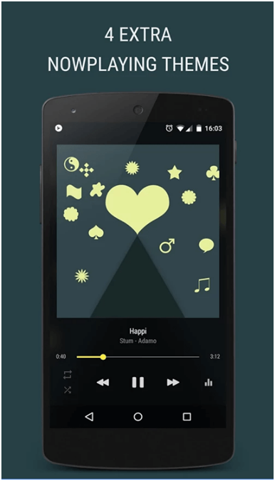 top 10 music player for android