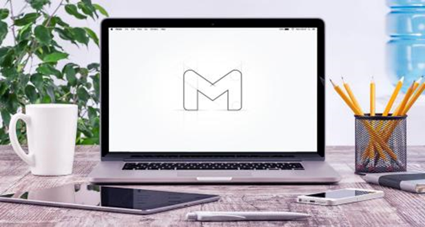 New Gmail logo