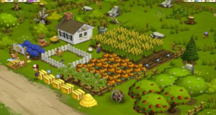 The FarmVille game