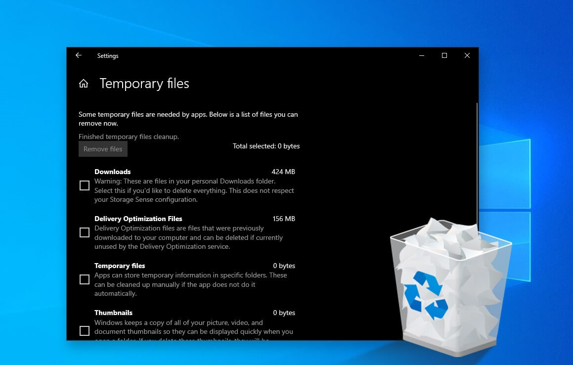 Delete These Windows Files and Folders